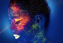 Neon Makeup Photoshoot