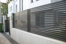 modern fences - nowoczesne ogrodzenia / Have a look at our aluminium gates and fences.