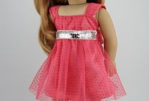 American girl dolls prom dresses