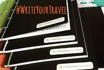 #WriteYourTravel Project / Join our #WriteYourTravel notebook project! Being loyal to traditions, HostelsClub wants to throw back some of the best nostalgic memories from the past decades. Therefore, we have set six little notebooks to travel around the world.  http://hostelsclubblog.com/join-our-travel-notebook-project-writeyourtravel/
