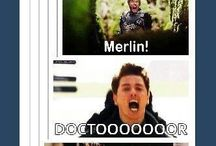 Superwholock + Merlin