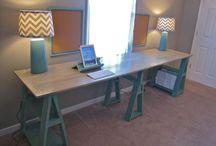 Desk office diy