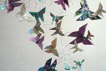 Origamis et papiers japonais