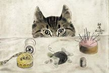 grafiki koty