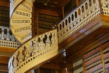 Stairways to Remember / The architecture in stairways amazes me. They are often the most memorable element in a building. What fun to see all the different stairs on pinterest. / by Anita Self