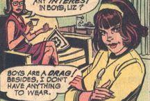 Feminist vintage ads