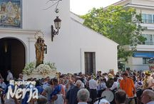 Nerja, Virgen del Carmen  / Photos from the procession in honor of the Virgen del Carmen, patron saint of mariners and fishermen.