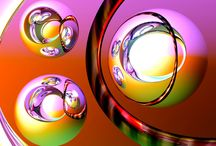 Fractals, Bubbles, abstract & more 2 / by Carolyn Ishii