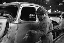 Classic car factory