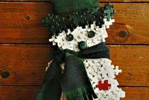 puzzle piece craft