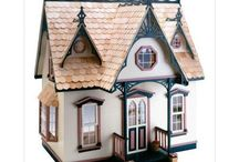 red's grandma's dollhouse / Ideas to make a small dollhouse inspired by red riding hood