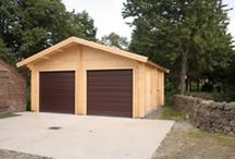 Garages and Car Ports / A small selection of our custom made garages, all made to order, any size or shape required.