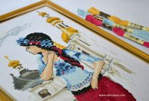 Вышивка крестом маленькие Вишивка хрестиком маленькі / схеми, картини, набори, дитяча, узори, журнали схемы, картины, наборы, детская, узоры, журнали