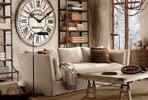 Obývací pokoje - living rooms