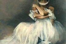 my painting- ballerinas / me&my art