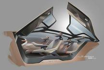 car sketch - Interior