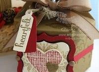 geskenke / diy covering gifts/gift boxes