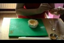 Torta virágok