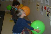 Outdoor play - preschool