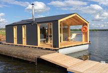pontoon boat - houseboat
