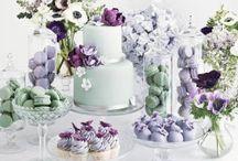 Dessert Tables / Lots of lovely cake!