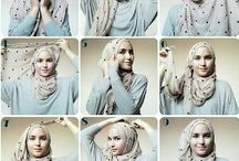 Hijab Tutorial / show your beauty with hijab
