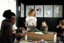 Herbiers en Scène 2014 en France /  1994 - 2014, 20 ans d'engagement et de passion botanique. A l'occasion de ses 20 ans, l'Institut Klorane a souhaité partager sa passion botanique à travers les ateliers  « Herbiers en scène » qui se sont déroulés sur les berges de Seine (Paris) du 28 mai au 1er Juin 2014.