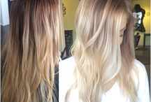 blond balayage sombre