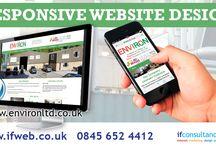 Website Design High Peak / New responsive wordpress website completed for High Peak business Environ www.environltd.co.uk