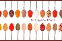 The Spice Trail / Delicious spicy foods from all around the world - entered into The Spice Trail food bloggers' challenge. Find out more at http://bangers-and-mash.com/the-spice-trail/