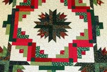 Christmas Quilts / Quilts add warmth and beauty to your decor during this special time of year.