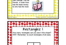 Homeschool Math / Fun homeschool math ideas. Games, resources and ideas to make math fun.