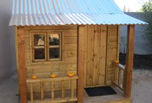 kids playhouse outdoors