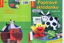 Origami a skládané výrobky z papíru