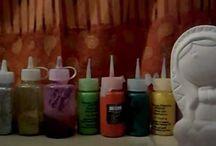técnicas de pintura sobre cerámica