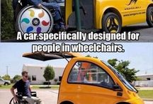 Cars for people in wheelchair