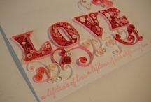 Quilling - Words and Letters