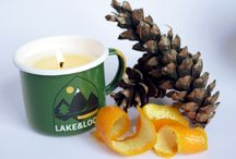 Camping Mug Candles / Our enamel mugs are filled with hand-poured 100% all natural wax. Environmentally-friendly with a mix of soy and rapeseed wax, our candles are made in small batches to ensure perfection.  Made in Glasgow using only premium grade fragrance and essential oils, our candles are then left to cure for a week to ensure potency.   Our scents are inspired by the great Canadian outdoors and countryside of Scotland.