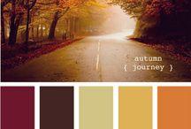 jesień w grafice