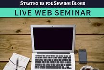 Sewing Web Seminars & Sewing Videos / by Sew News