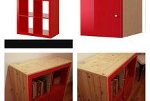 Mueble Expedit antes y después