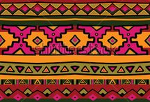 ethnic pattern / illustration, pattern, hand drawing, vector, ethnic, boho, native