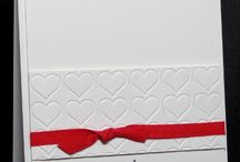 Happy heart embossing