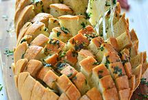 chleb faszerowany maslem czosnkowym