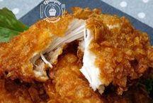 Panure poulet