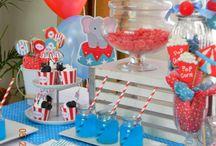 Gavin's Circus Birthday Party / by Xina Moreland