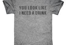 Drinking t-shirts, hoodies, & tanks / It's 5 o'clock somewhere.