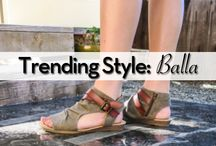 Trending Style: Balla / What's the hottest Blowfish Shoes style this spring? Balla! This unique silhouette sandal features a micro-wedge heel, inside zipper, and accent ankle straps. Don't forget about Blowfish's signature slightly cushioned footbed. With this style and comfort, you won't want to take Balla off!   Shop Now: http://bit.ly/29Js9KS