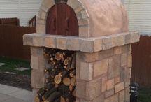 Pizza Oven Ideas / by Tina Monson Rheinford