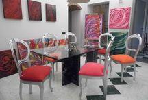 """Studio Arte MafaldaPegollo / i miei dipinti sono visibili sempre presso """" Ciawa studio d'Arte Mafalda Pegollo """"  nel centro storico di Massa , Massa Carrara Toscana Italia"""